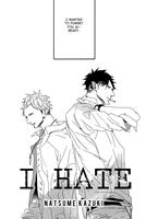 I HATE (Natusme Kazuki)