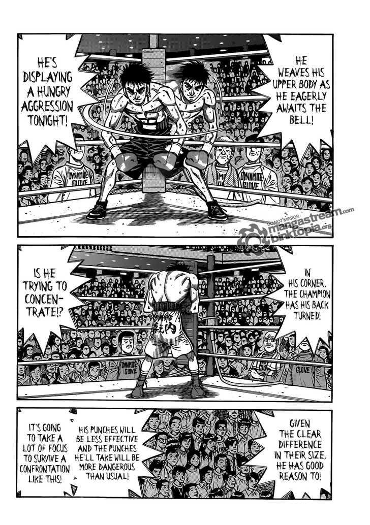 Hajime no Ippo - Chapter 933